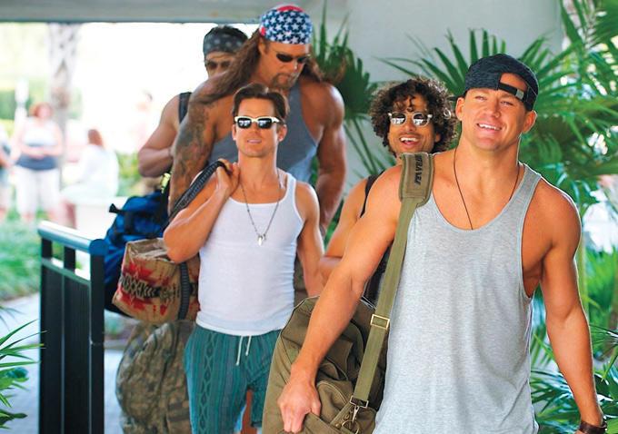 Adam Rodriguez, Kevin Nash, Matt Bomer, Channing Tatum, Joe Manganiello, photo, Magic Mike XXL, movie, sequel
