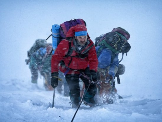Everest, Jason Clarke, Jake Gyllenhaal, movie, photo