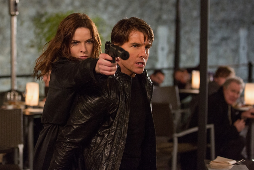 Mission Impossible, Rogue Nation, movie, photo, Tom Cruise, Rebecca Ferguson