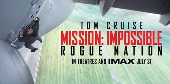 Mission Impossible, Rogue Nation, movie, poster, Tom Cruise