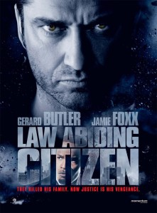 Gerard Butler, Law Abiding Citizen, Adam Sandler, Reign Over Me, S.A. Young author